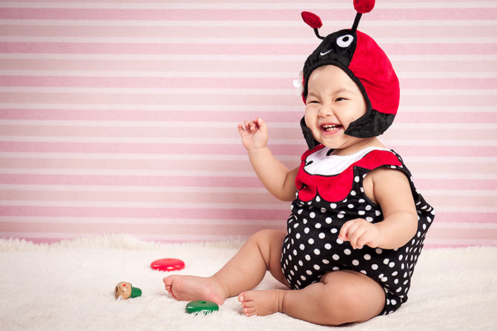 Halloween Costumes For Babies - Lady Bug