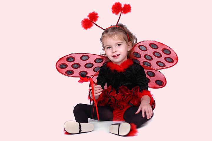 Ladybug cheap halloween costumes for kids Pictures