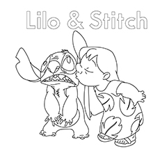 Lilo Coloring Images