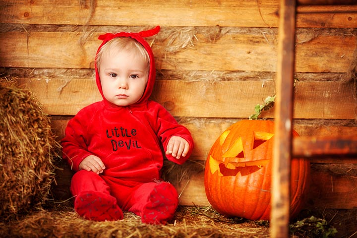 little devil scary kids halloween costumes pictures