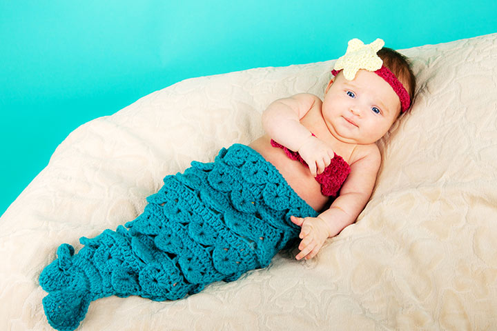 Halloween Costumes For Babies - Mermaid Costume