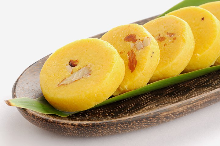 Diwali Sweets Recipes For Children - Milk Pedha