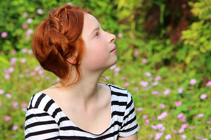 Pregnancy Hairstyles  - Milkmaid