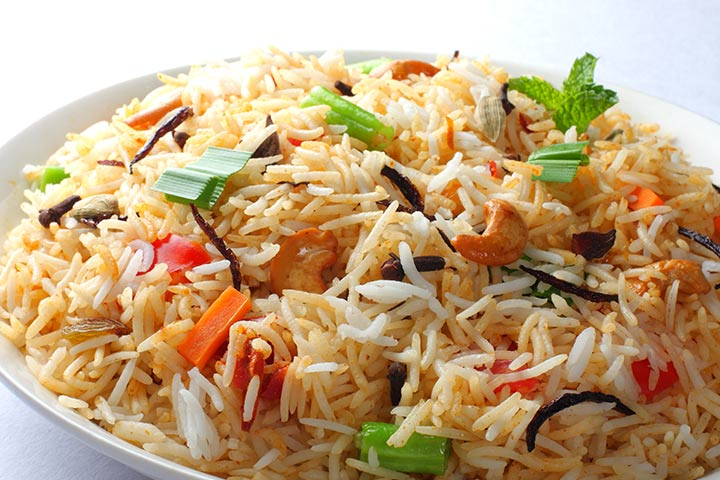recipes to make with kids - Mixed Fried Rice