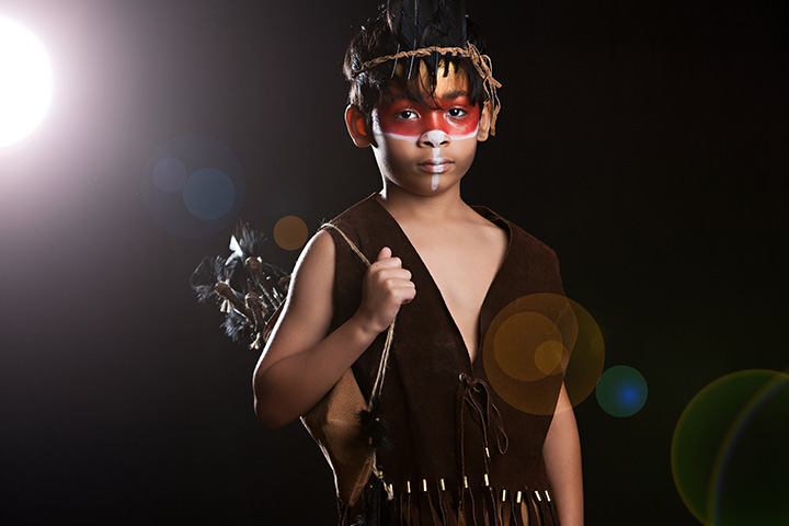 native american indian scary halloween costumes for kids