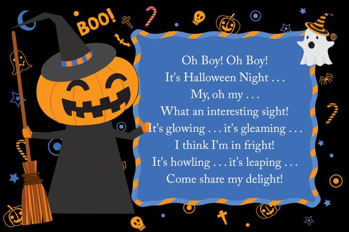 Oh Boy! It's Halloween Night... by Cissy Ramirez