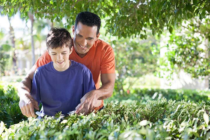 Participate in community gardening activities
