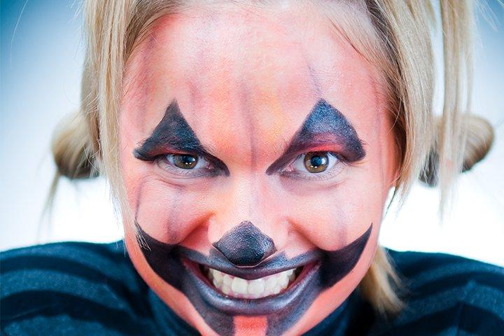Halloween Face Paint For Kids - Perfect Pumpkin