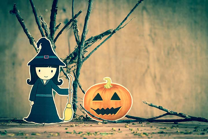 Halloween Games For Kids - Pin The Wart On The Witch