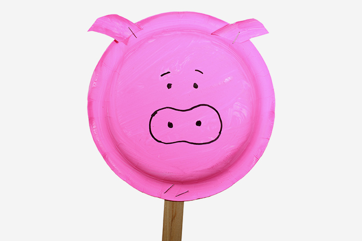 Plastic-plate goes Oink-Oink