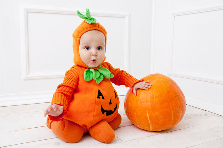 Pumpkin halloween costumes for babies Pictures