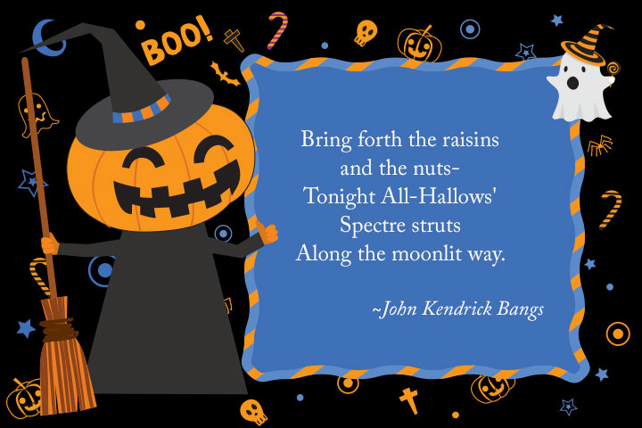 Halloween Quotes For Kids.Scary And Cute Halloween Songs Quotes Wishes Poems
