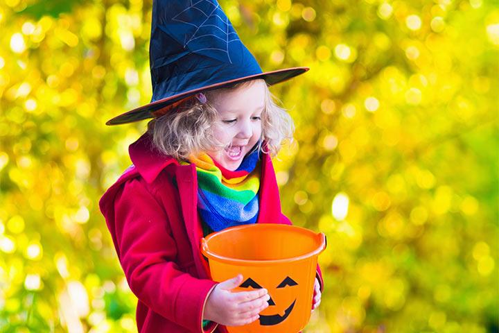 Rainbow homemade halloween costumes for babies