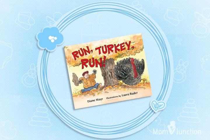 Thanksgiving Books For Preschoolers - Run, Turkey Run