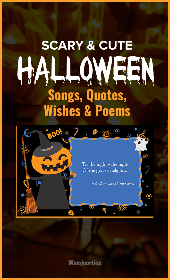 Scary And Cute Halloween Songs, Quotes, Wishes  Poems-1350