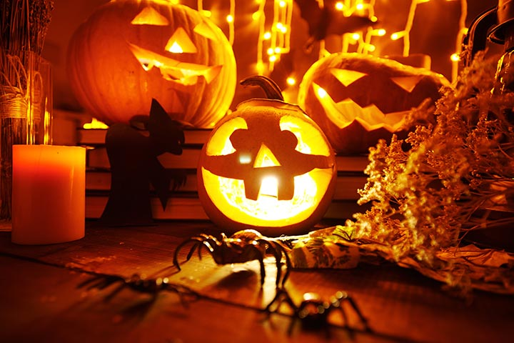 scary and cute halooween songs quotes wishes poems