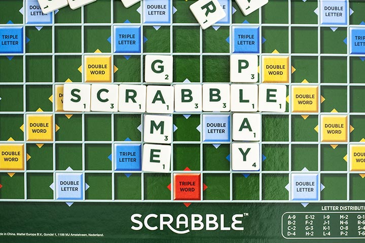 Scrabble And Other Table Games