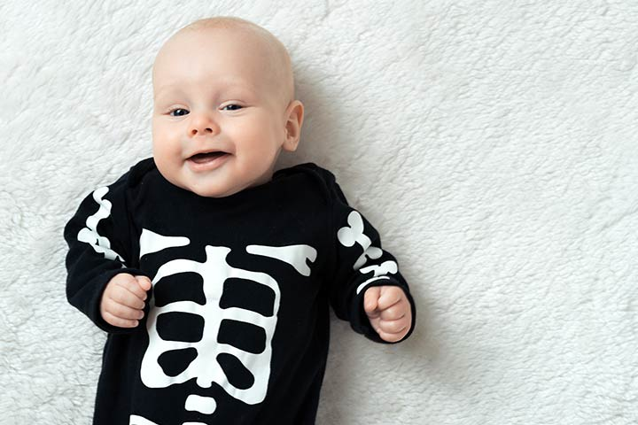 Halloween Costumes For Babies - Skeleton