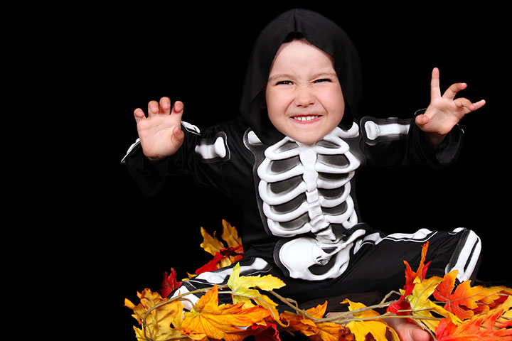 Halloween Costumes For Toddlers - Skeleton