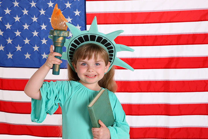 Halloween Costumes For Toddlers - Statue Of Liberty