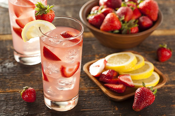 Baby Shower Strawberry Lemonade Recipes