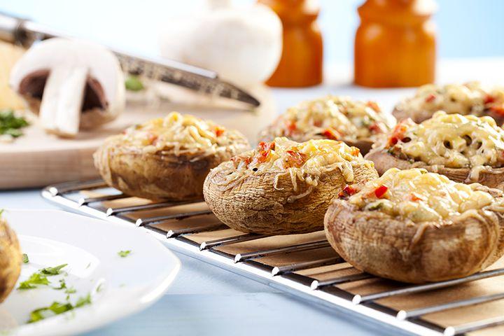 Baby Shower Stuffed Mushroom Recipes