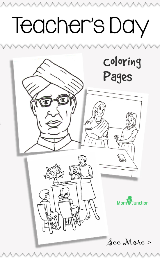 Top 10 Teachers Day Coloring Pages For Your Little One Teachers Day Coloring Pages
