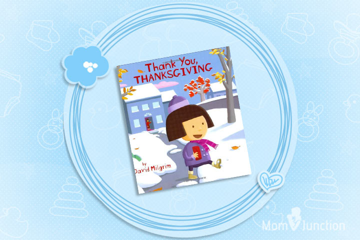 Thanksgiving Books For Preschoolers - Thank You, Thanksgiving