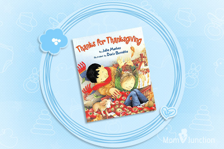 Thanksgiving Books For Preschoolers - Thanks For Thanksgiving