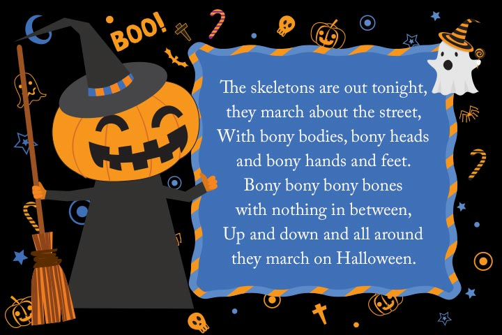 The Skeleton Parade By Jack Prelutsky