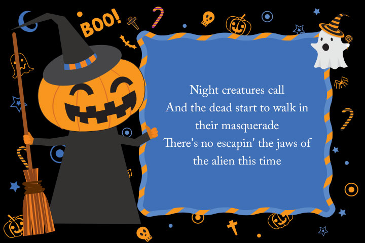 Scary And Cute Halloween Songs, Quotes, Wishes & Poems