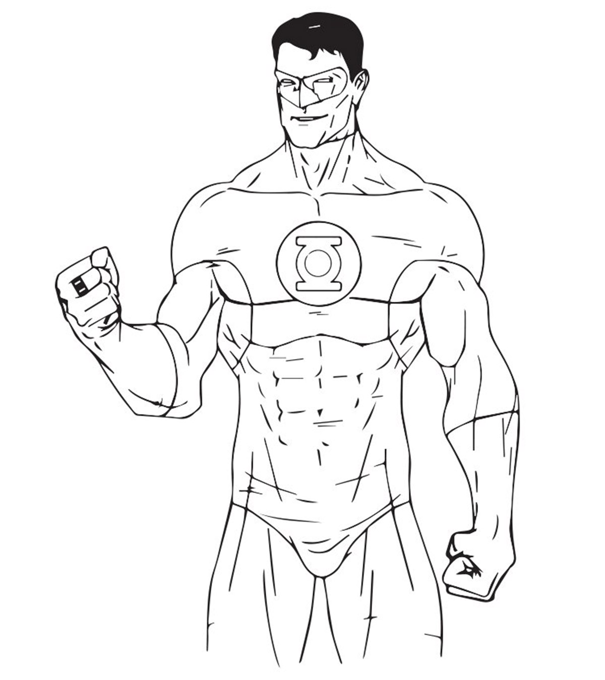 Super Heros Coloring Pages MomJunction