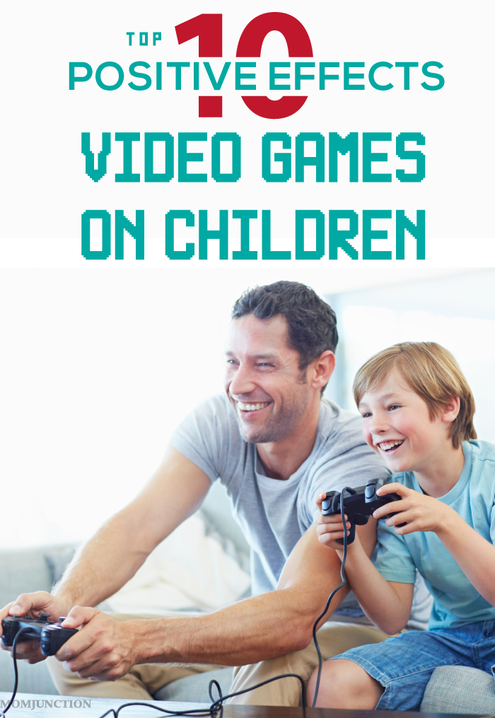 positive effects of video games The positive teamwork aspect of multiplayer games might counterbalance some of the negative effects of participating in virtual violence a game that entails finding solutions for complex problems.
