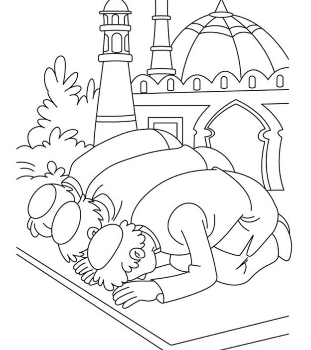 Top 10 Ramadan Coloring Pages For Toddlers