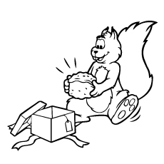 Chipmunk Coloring Pages - Townsends-Chipmunk