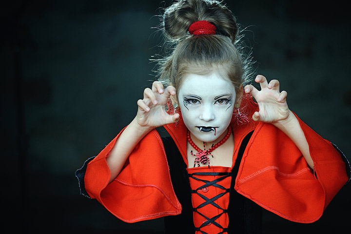 Vampire halloween costumes for kids girls Pictures