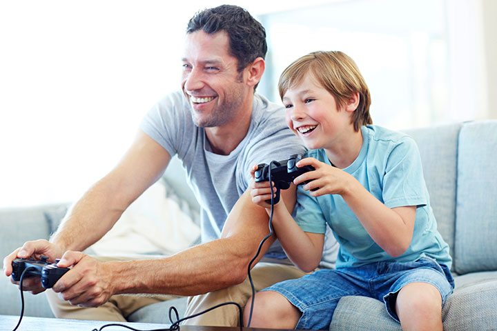 the benefit of video games on children