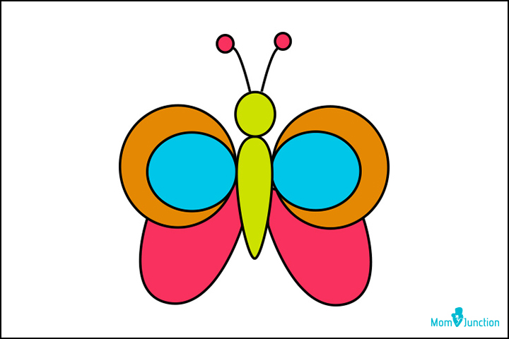 How To Draw A Butterfly A Step By Step Guide