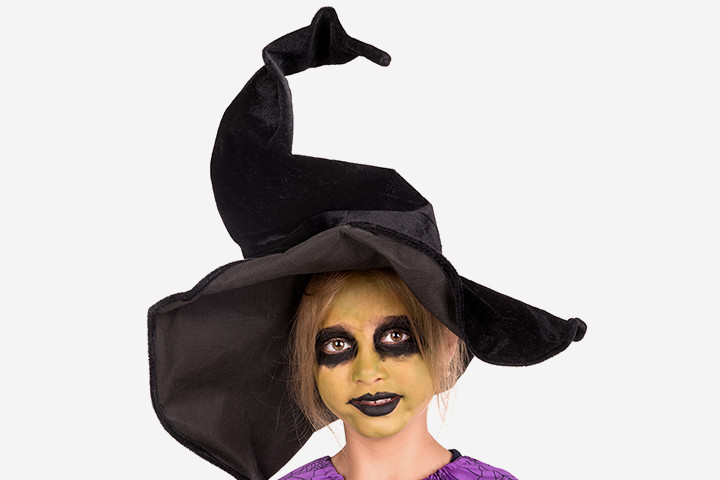 Halloween Face Paint For Kids - Witch