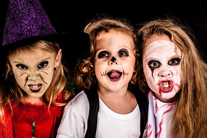 zombie kids halloween costumes pictures