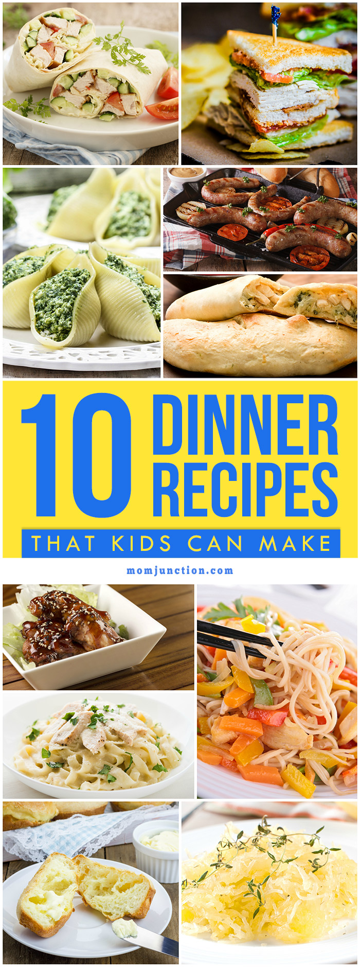 10 easy dinner recipes that kids can make for Easy things to make for dinner for two