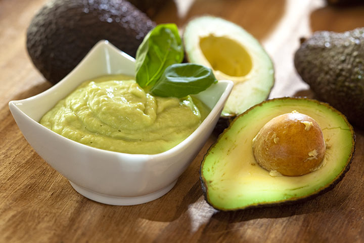 Snack Recipes For Kids - Edamame And Avocado Dip