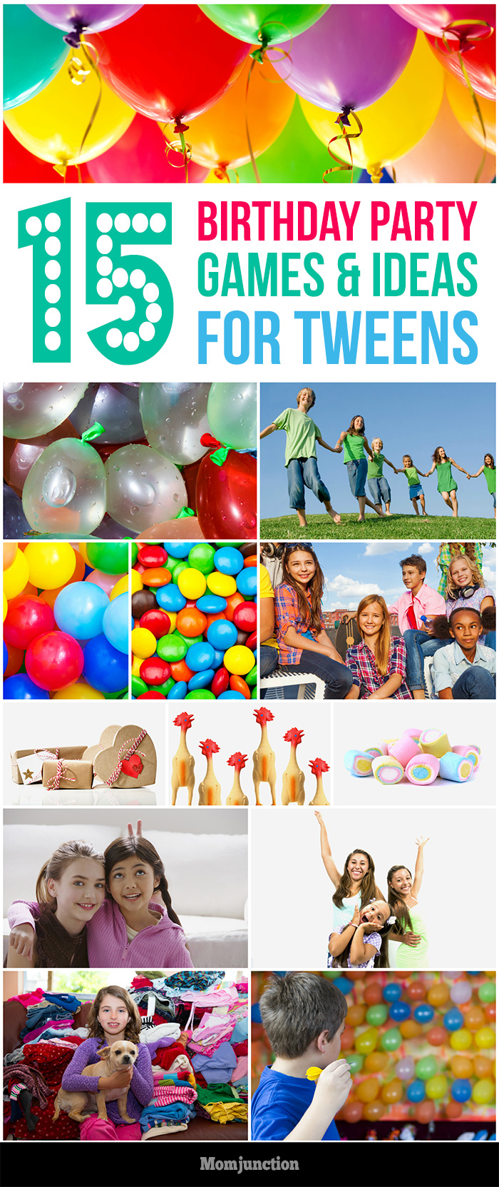 15 Fun Tween Birthday Party Ideas And Games