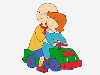 Top 10 Caillou Coloring Pages For Toddlers