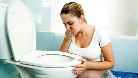 A Vomiting Blood During Pregnancy