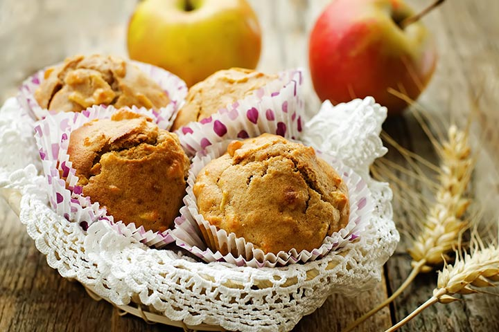 Healthy Snacks For Teens - Apple Muffin