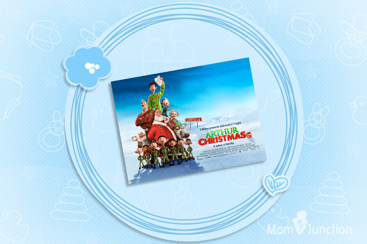 Christmas Movies For Kids - Arthur Christmas