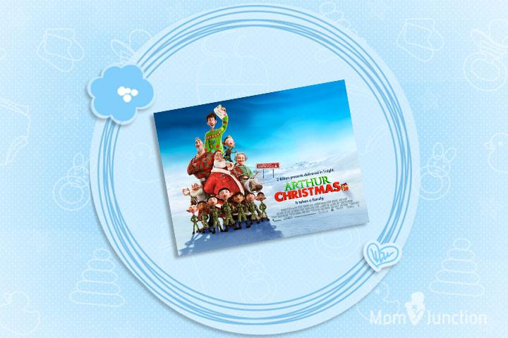 Christmas Movies For Kids - Arthur Christmas