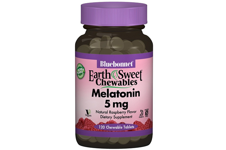 Bluebonnet Melatonin Chewable Tablets