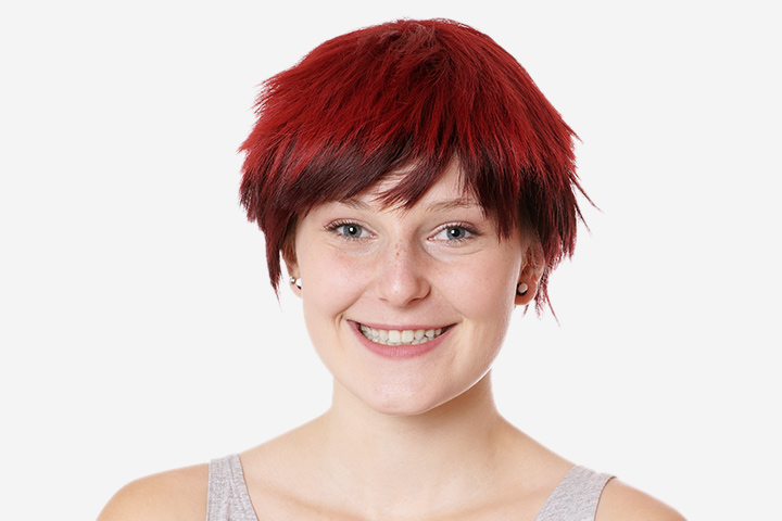 Short Hairstyles For Teens - Boyish Short Hair With Spiky Edges